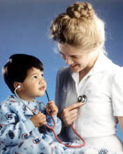 Knoxville Health Insurance - Picture of Nurse and Child